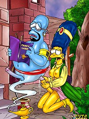 Tgirls from the Simpsons